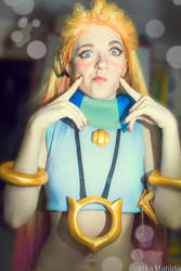 Zoe League of Legends cosplay Ytka Matilda by YtkaMatilda