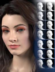 SY Beautiful Faces Genesis 8 Female by SickleYield