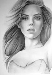 Scarlett Johansson by saraly