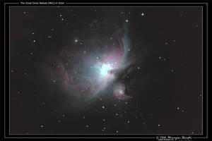The Great Orion Nebula by octane2