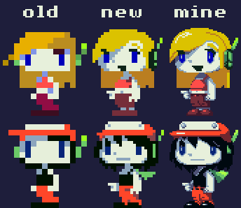 Cave story sprites hd2 by Daydreamer194