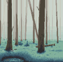 Misty Forest by Daydreamer194