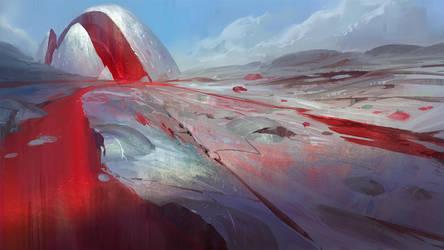 Red Stream by infinitecog
