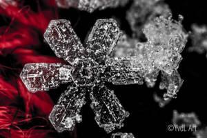 Single Snowflake by YvdlArt