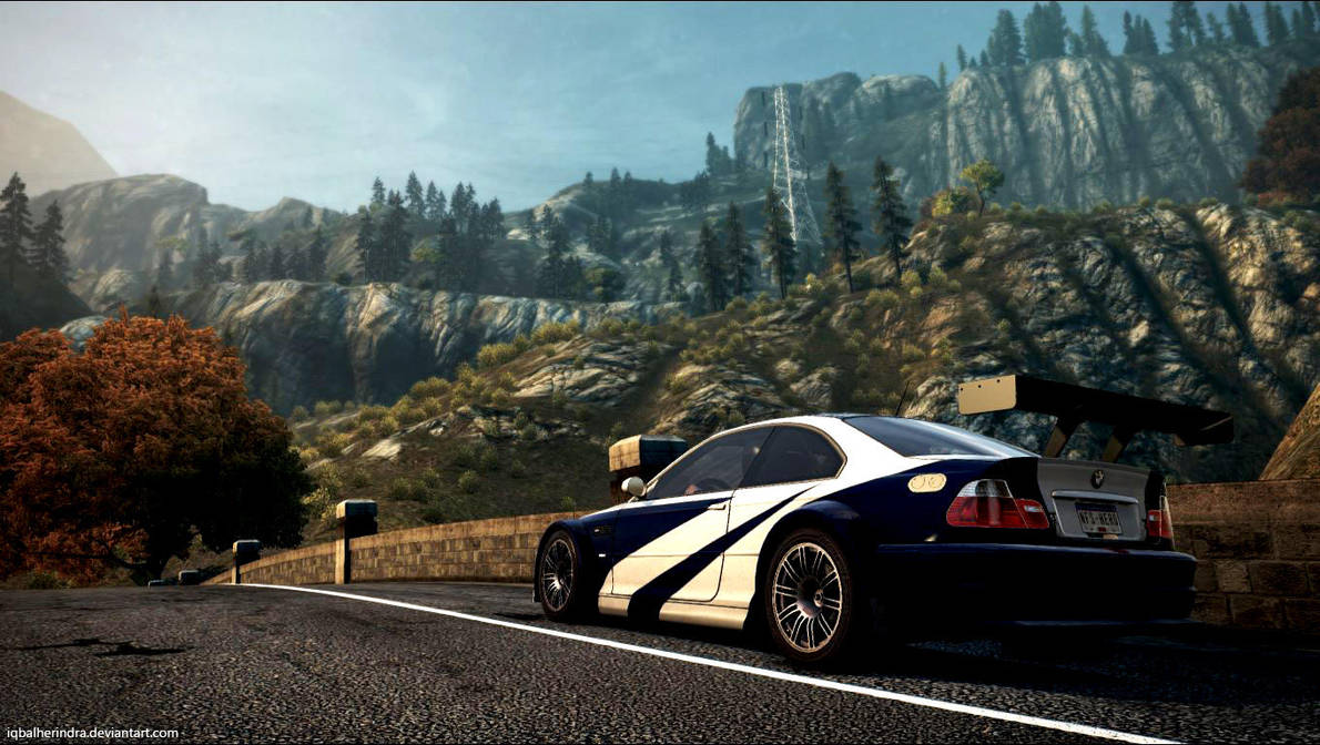 Bmw M3 Gtr E46 Nfs Most Wanted 2012 By Iqbalherindra On Deviantart