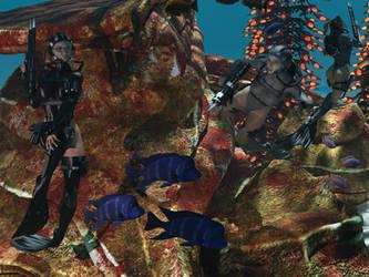 Scuba Ambush 2 - The Guards by 666markofthebeast666
