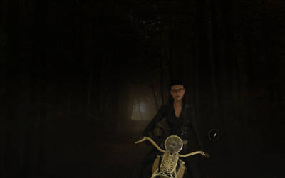 Gemma and the Road by 666markofthebeast666