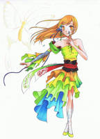Butterfly - Copics by SuS22222