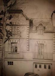 Sketch: House by Kiwicyan