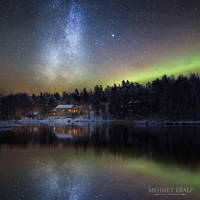 House of the Night Skies by m-eralp