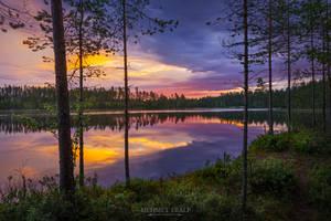 Summer sunrise by m-eralp
