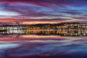 A november evening in Finland by m-eralp
