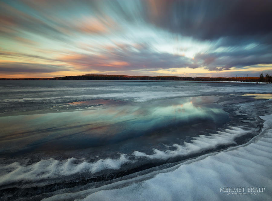 When the ice was melting in april... by m-eralp