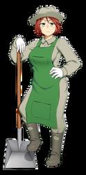 Gardener Andrea by IvalicianAzulmagia