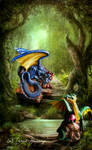 Nature Dragons by Lillith8810