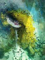 Tim Burton-Original by MissMachineArt