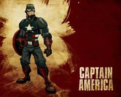 Captain America by jeffagala