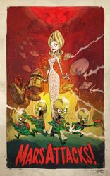 Mars Attacks! by jeffagala