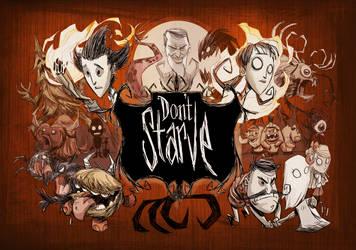 Don't Starve PS4 art by jeffagala