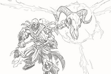 Skeletor by jeffagala