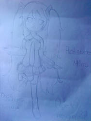Mi fan art de hatsune miku by Evi-chan233