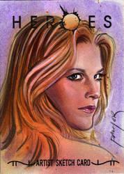 Niki sketch card by jasonpal