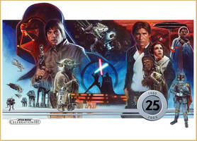 Empire Strikes Back 25th Anniv by jasonpal