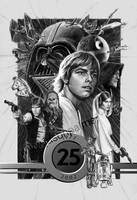 Star Wars 25th by jasonpal
