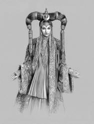 Padme -Senate Gown by jasonpal