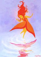 flame princess by mayakern