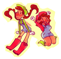 the mario sisters by mayakern