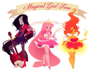 magical girl time by mayakern