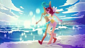 beach date by mayakern
