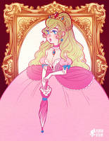 princess peach by mayakern