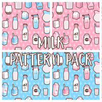 milk pattern pack by mayakern