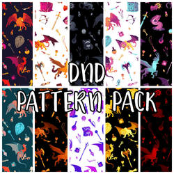dungeon master pattern pack by mayakern