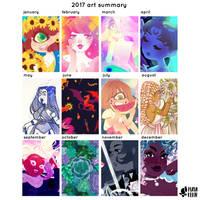art summary 2017 by mayakern