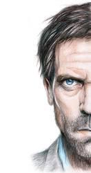 Hugh Laurie by tonicaaek