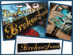 Broken Sword bracelet by letax
