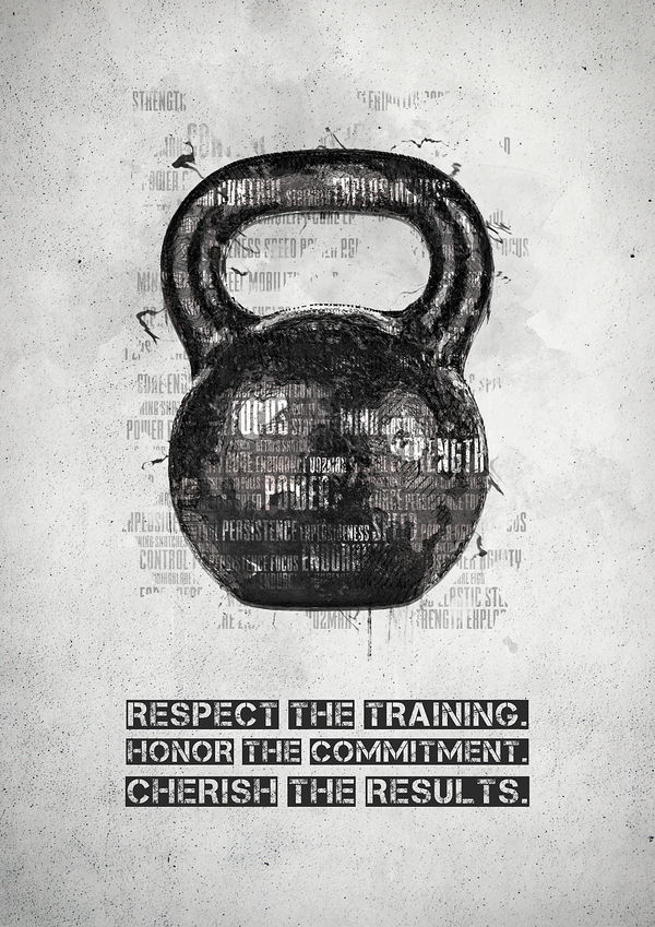 Kettlebell - Respect the Training by Senthrax