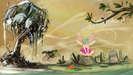 Tinkerbell by Ophelie-c