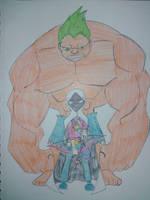 Nicktoon Heroes - Science vs. Magic by Zigwolf