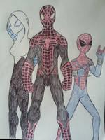 The Spider Trio by Zigwolf