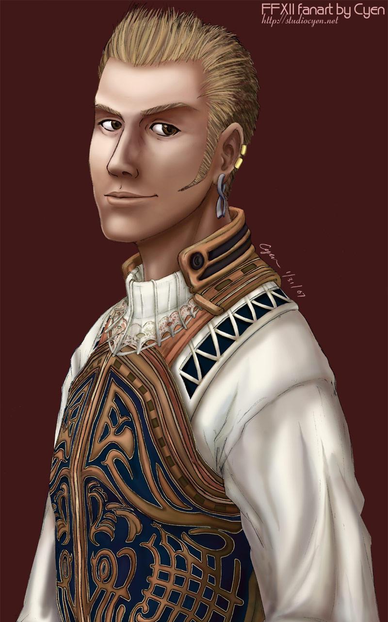 Balthier Portrait Redo by cyen