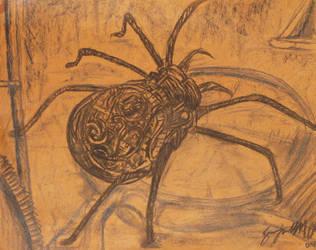 Clockwork Spider by KeepGoingSpiralOut