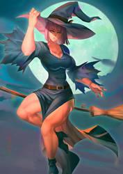[cm] Maud Witch by bakki