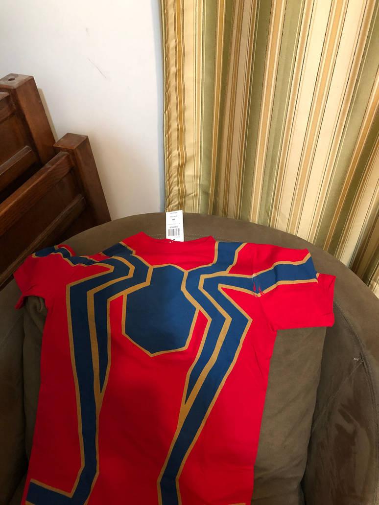 Birthday Gift # 3 Iron Spider T-shirt by Chrisdewees10