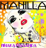 Manila Luzon digital portrait by rick1949
