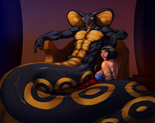 [Request] Haphus On His Throne by JesseCoyArt