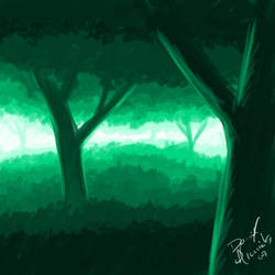 Forest Speedpainting by Danalm